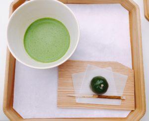 啼鳥菴のお抹茶