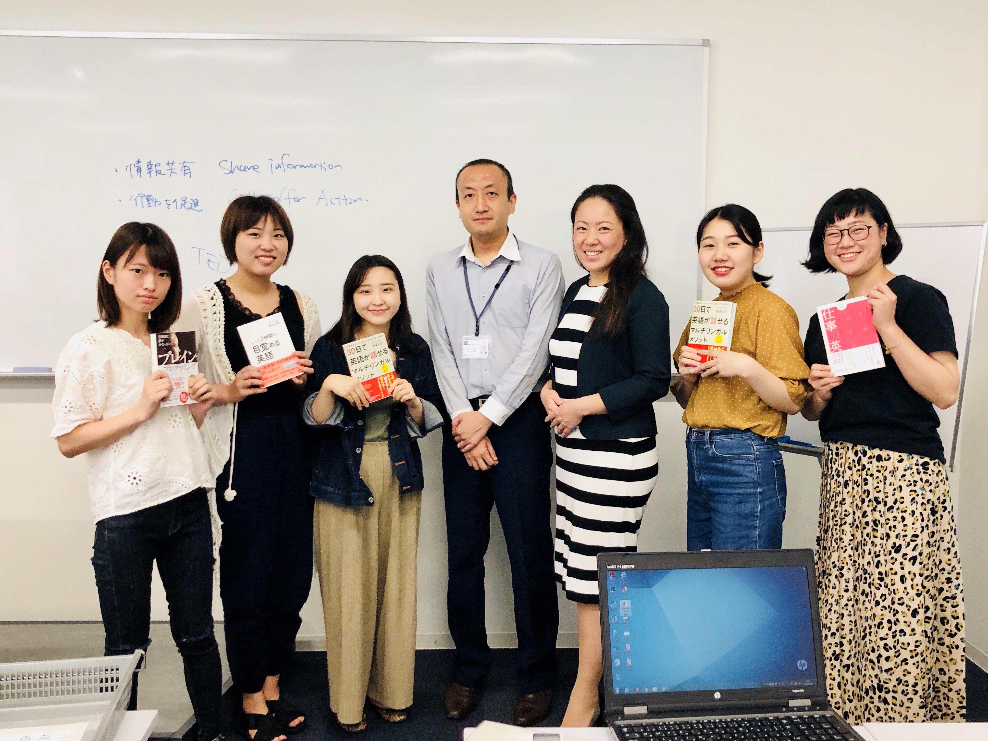 昭和女子大学でグローバルキャリアについて出張授業